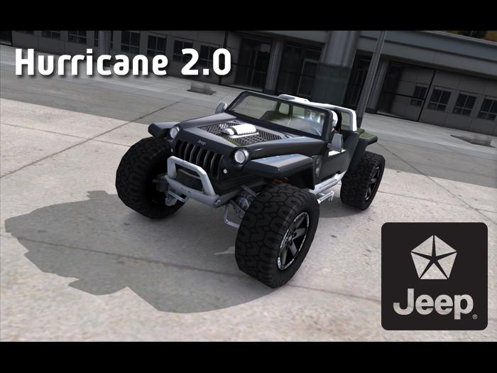 Trackmania Carpark 3D Models Jeep Hurricane 20