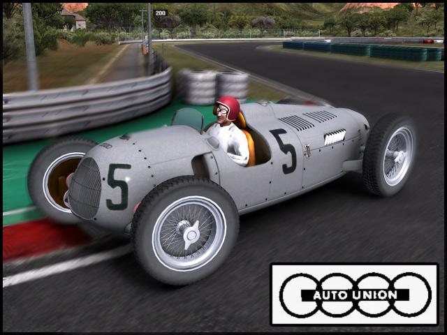 Trackmania Carpark 3d Models Auto Union Type C